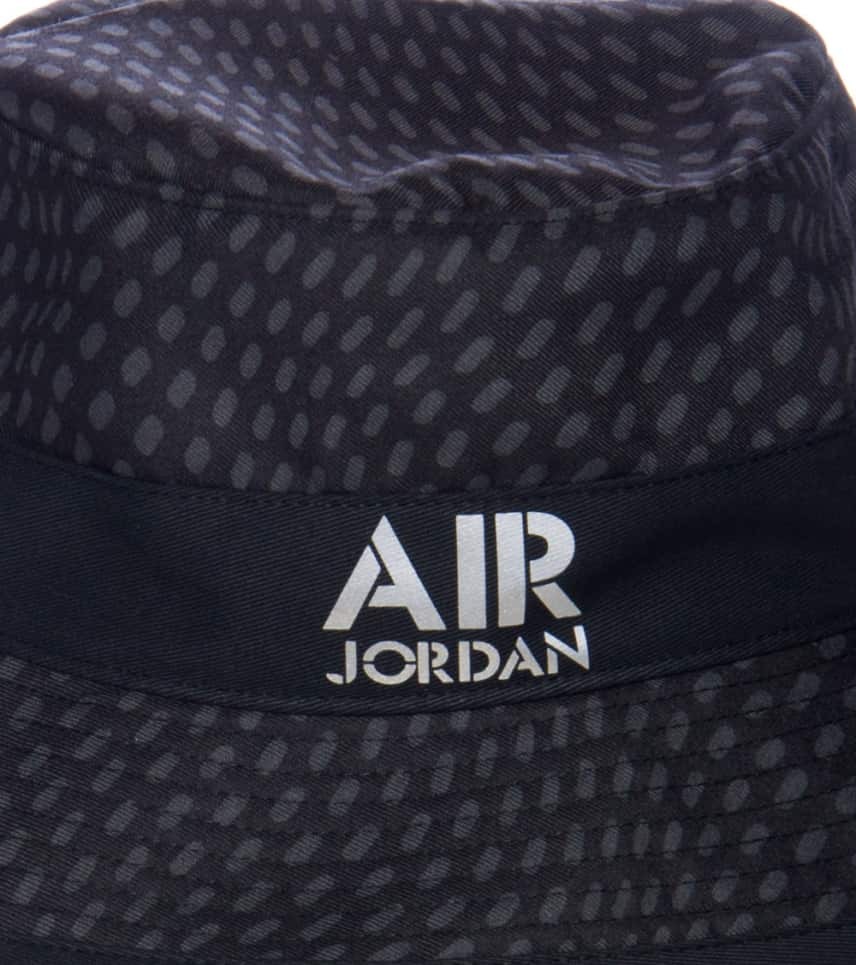 415873f028d Jordan AIR JORDAN STENCIL BUCKET HAT (Black) - 658386011