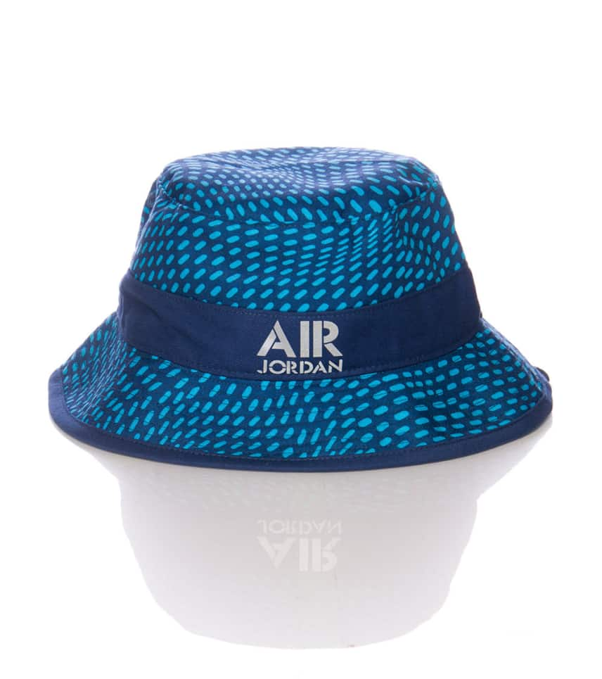 5c86772e Jordan AIR JORDAN STENCIL BUCKET HAT (Navy) - 658386410 | Jimmy Jazz