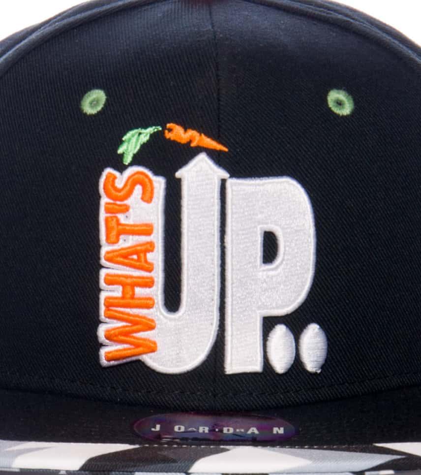 b5c9af8a0b7 Jordan JORDAN WHAT S UP JOCK CAP (Black) - 658387010H