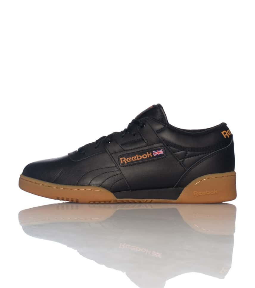 6973407bc0bc9d Reebok WORKOUT LOW SNEAKER (Black) - 67107 | Jimmy Jazz