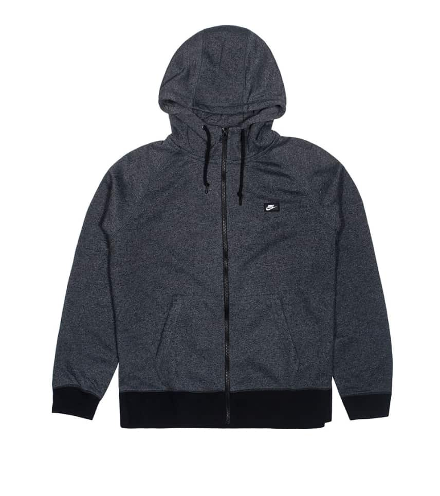 496c766e1a05 NIKE SPORTSWEAR SHOE BOX ZIP UP HOODIE (Grey) - 678560-065