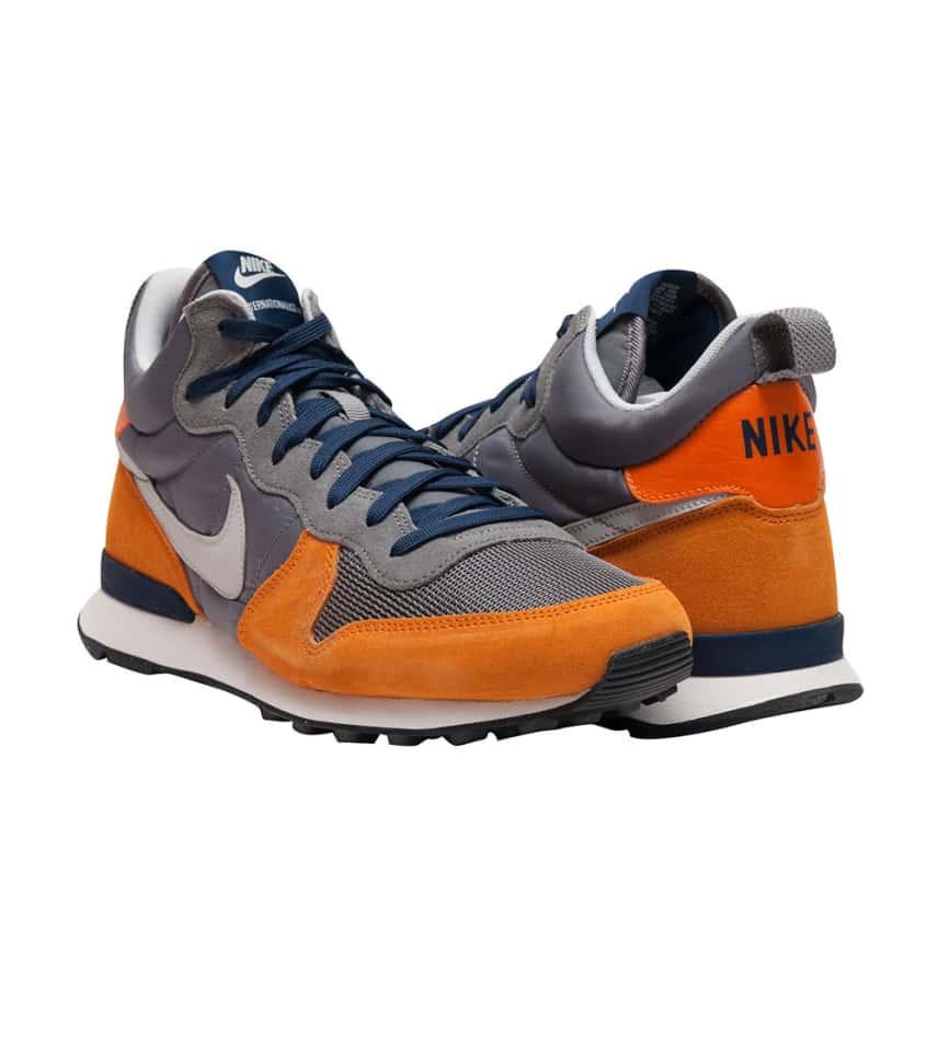72ea802b4ce1c2 Nike INTERNATIONALIST MID PRM SNEAKER (Grey) - 682844-201
