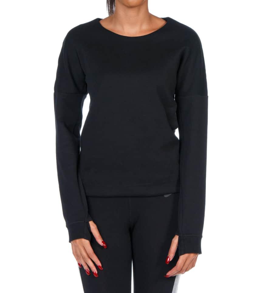 NIKE SPORTSWEAR Nike Tech Fleece Crew Sweatshirt (Black) - 685748 ... b5833d69b