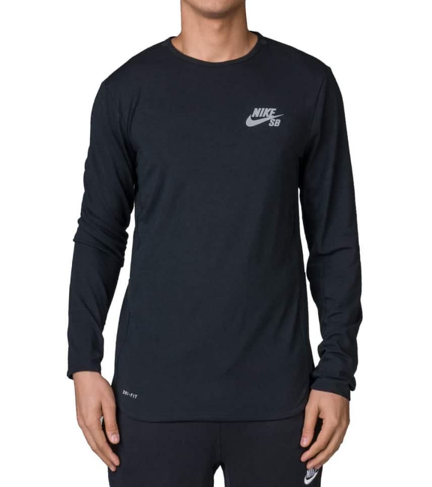 ba75d199 Nike SB SKYLINE DRI-FIT COOL TEE (Black) - 685940-010 | Jimmy Jazz