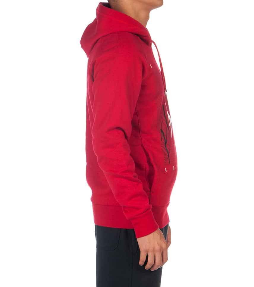 d025e7c5 Jordan JUMPMAN GRPH BRUSH PULLOVER HOODIE (Red) - 689266-687 | Jimmy ...
