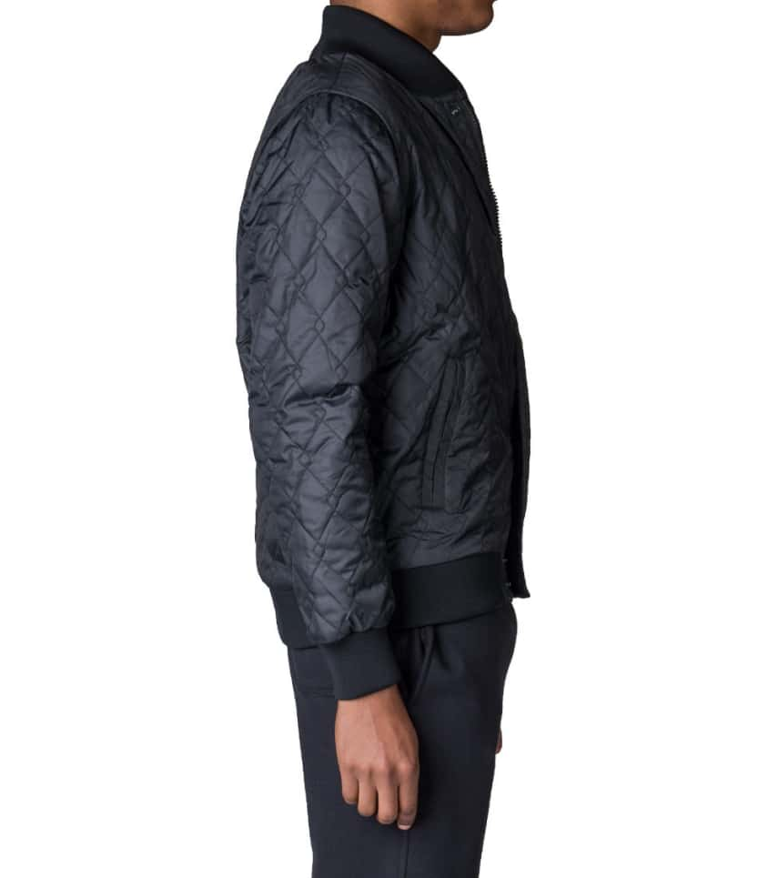2cfd0bfe18d7 ... NIKE SPORTSWEAR - Outerwear - AIR QUILTED ZIPOFF VARSITY JACKET ...