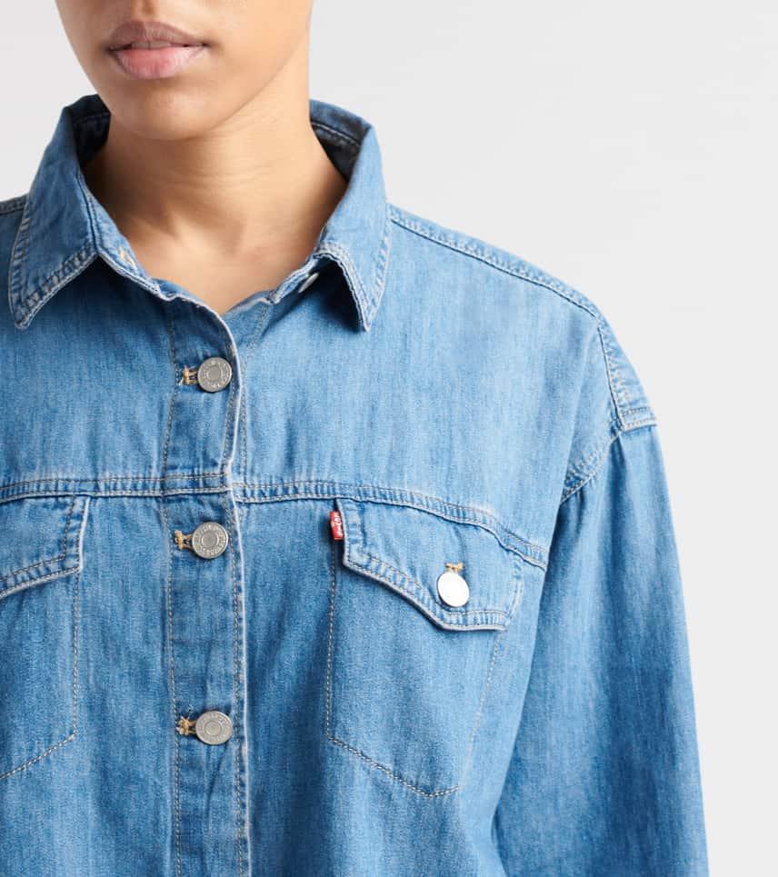 314bf6d9f02 Levis Ash Shirt (Blue) - 68978-0000