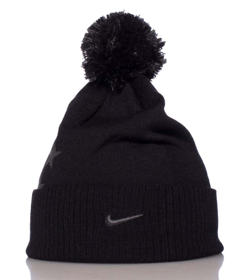 low priced b410d c03d8 NIKE FG STARS POM POM WINTER BEANIE