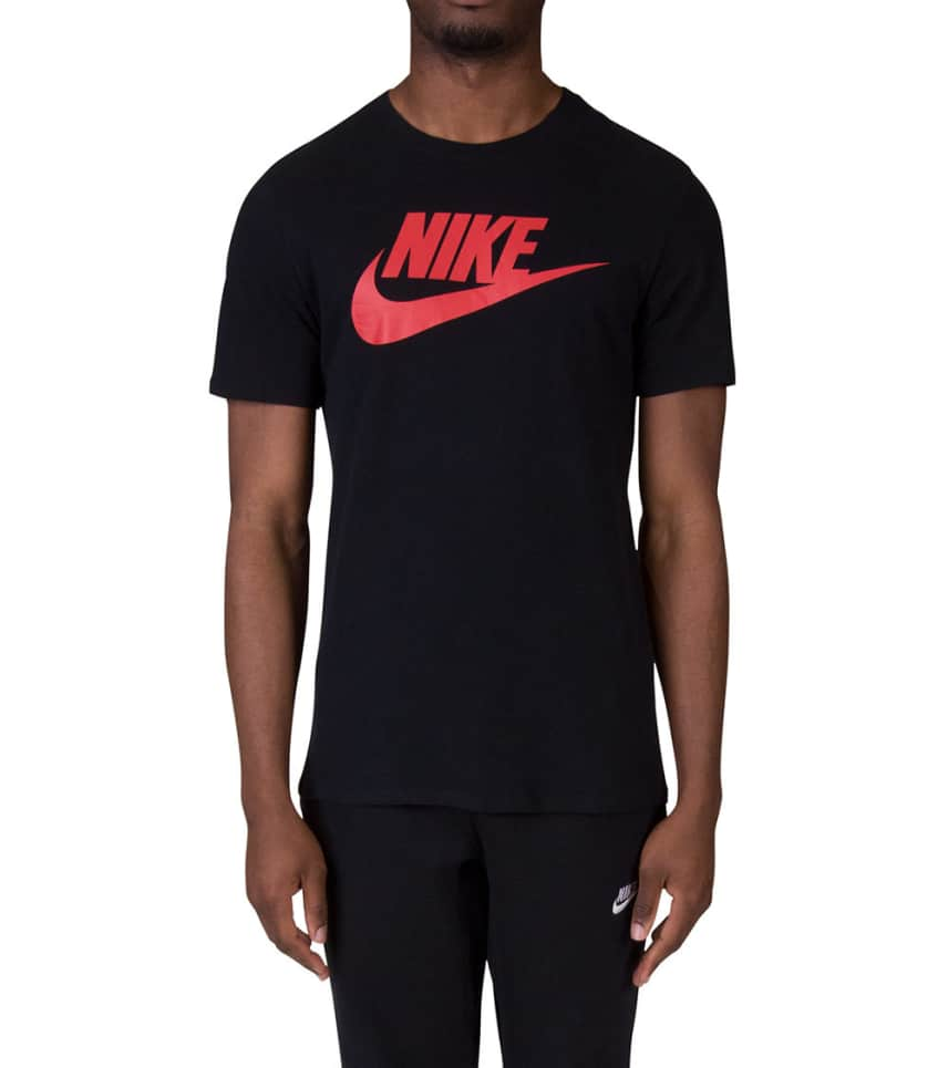 10a01087 Nike Icon Futura Tee (Black) - 696707-013 | Jimmy Jazz