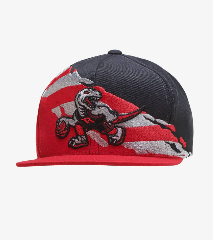 8f22a639d77736 Mitchell and Ness Toronto Raptors Brushed Flag Hat (Red) - 6HSSR ...