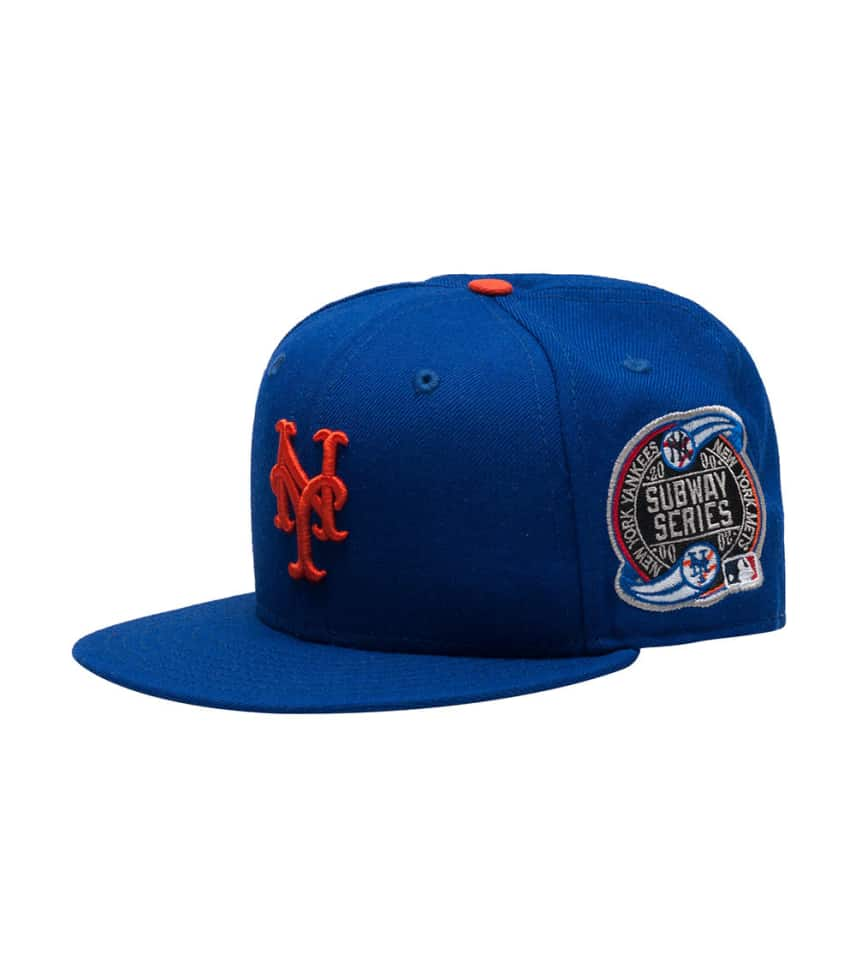 97121a80821 New Era NY METS MLB SUBWAY SERIES FITTED CAP (Blue) - 70071970 ...