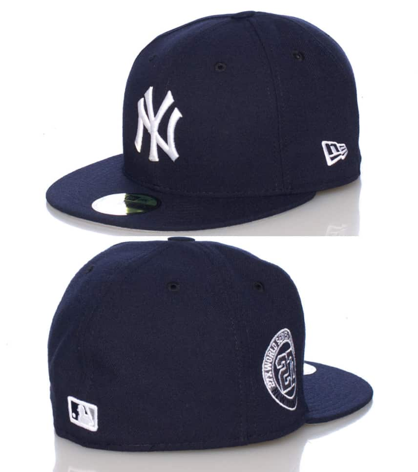 New Era New York Yankees Mlb Fitted Cap (Navy) - 70213269H  9d097f9a53e