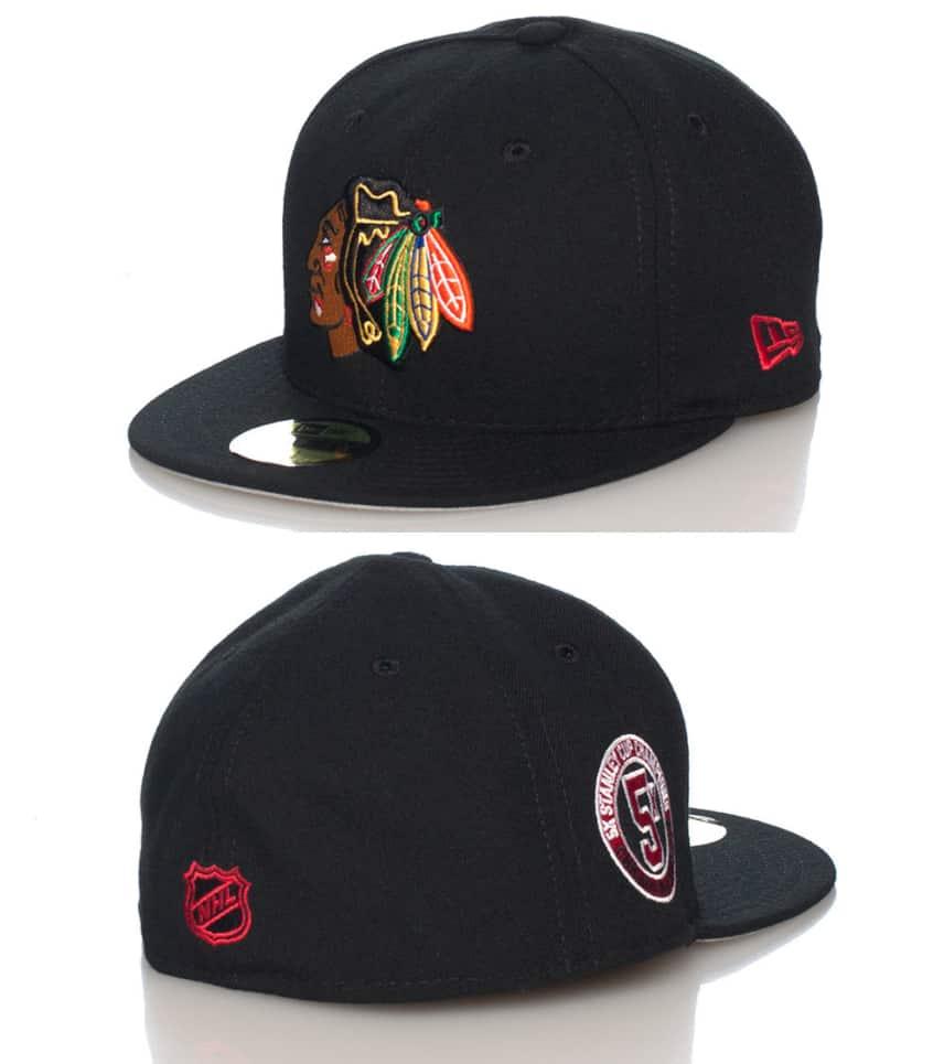 hyvin tiedossa söpö halpa söpö CHICAGO BLACKHAWKS NHLS FITTED CAP