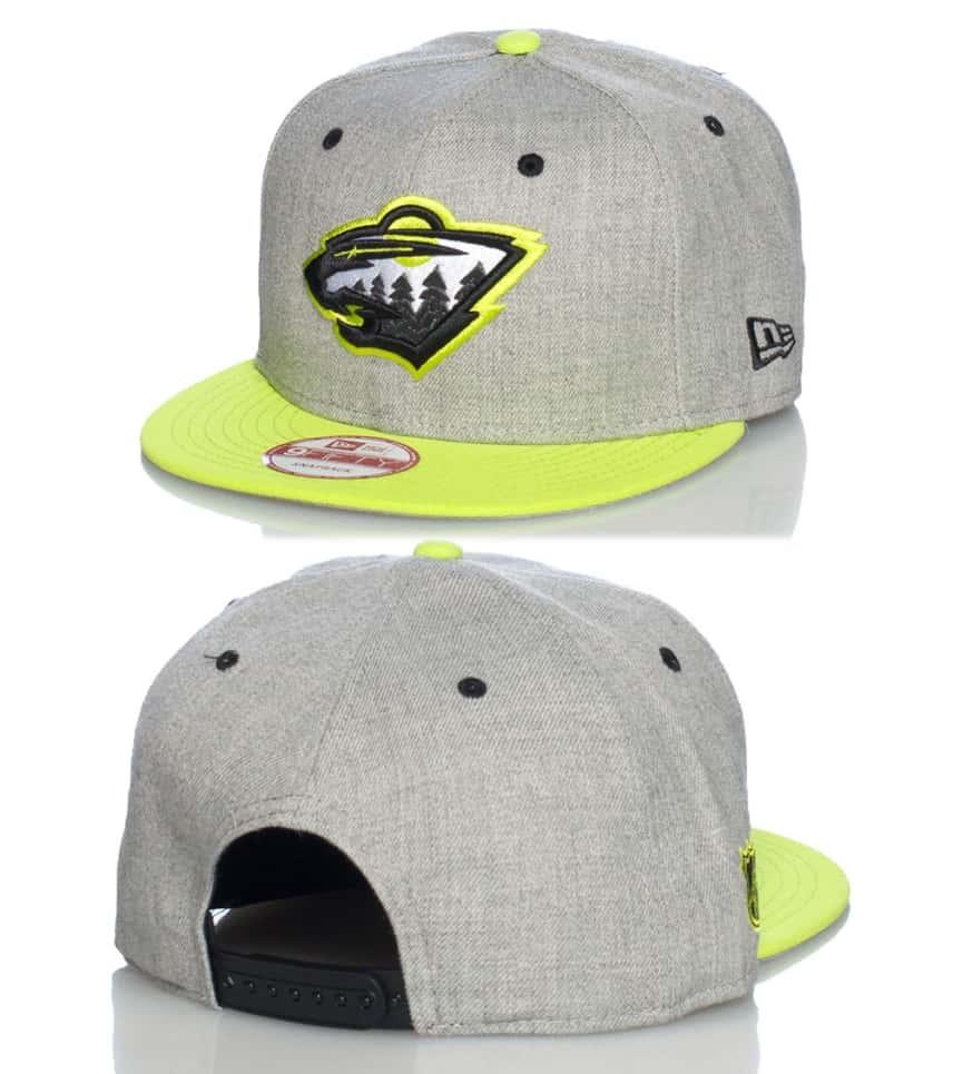 meet b3470 51304 NEW ERA MINNESOTA WILD NHL SNAPBACK CAP