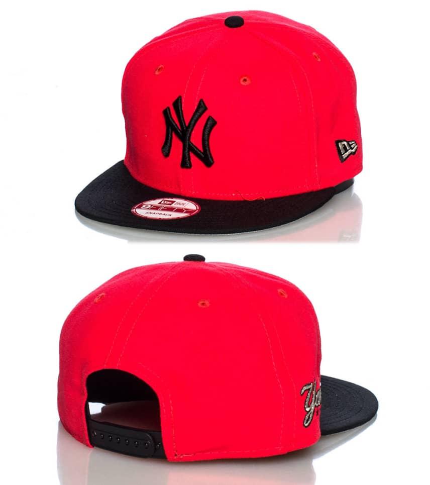 d1a56139452 New Era NEW YORK YANKEES MLB SNAPBACK CAP (Medium Red) - 70213518 ...