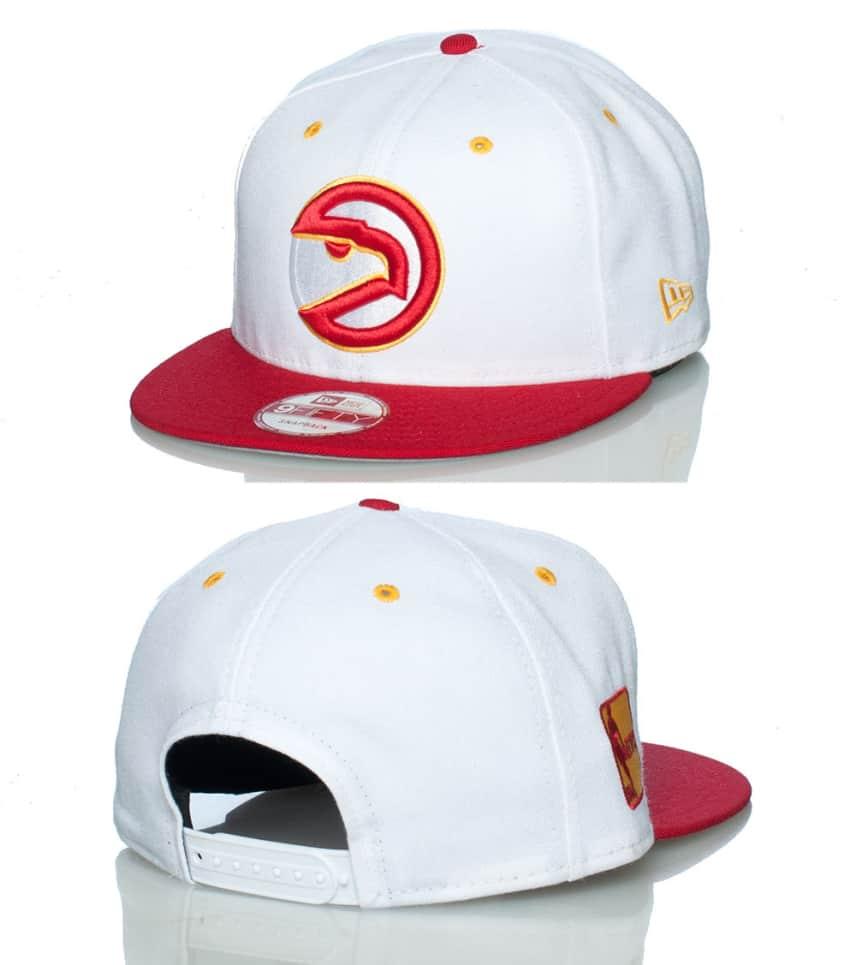 quality design 39fe5 da1ea NEW ERA ATLANTA HAWKS NBA SNAPBACK JJ EXCLUSIVE