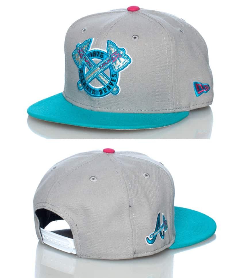 New Era Atlanta Braves Snapback Cap Jj Exclusive (Grey) - 70220592 ... bc4e6c06865