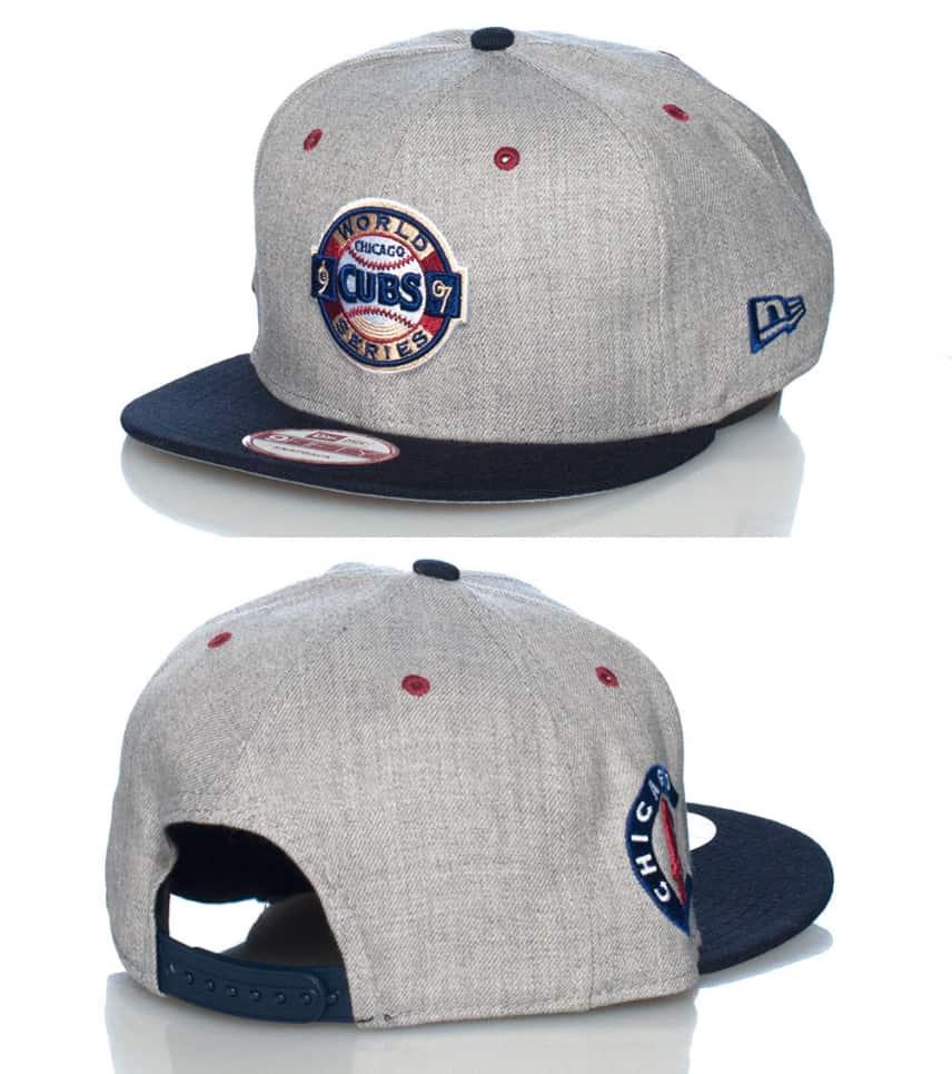 13ca2f8fb47 New Era Chicago Cubs Mlb Snapback Jj Exclusive (Grey) - 70221712 ...