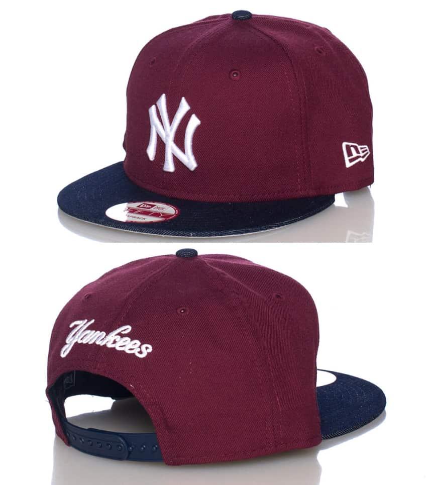New Era NY Yankees Mlb Snapback Jj Exclusive (Burgundy) - 70229527 ... 60257b5d2