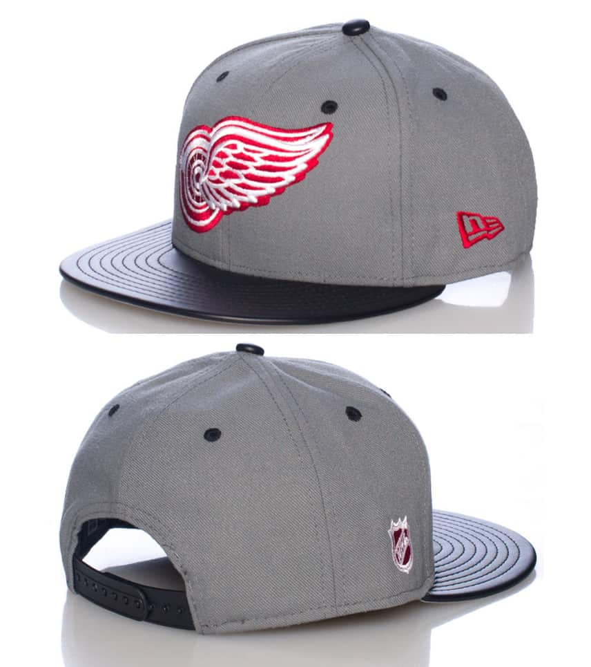 New Era DETROIT RED WINGS NHL SNAPBACK CAP (Grey) - 70235194  37b130b51