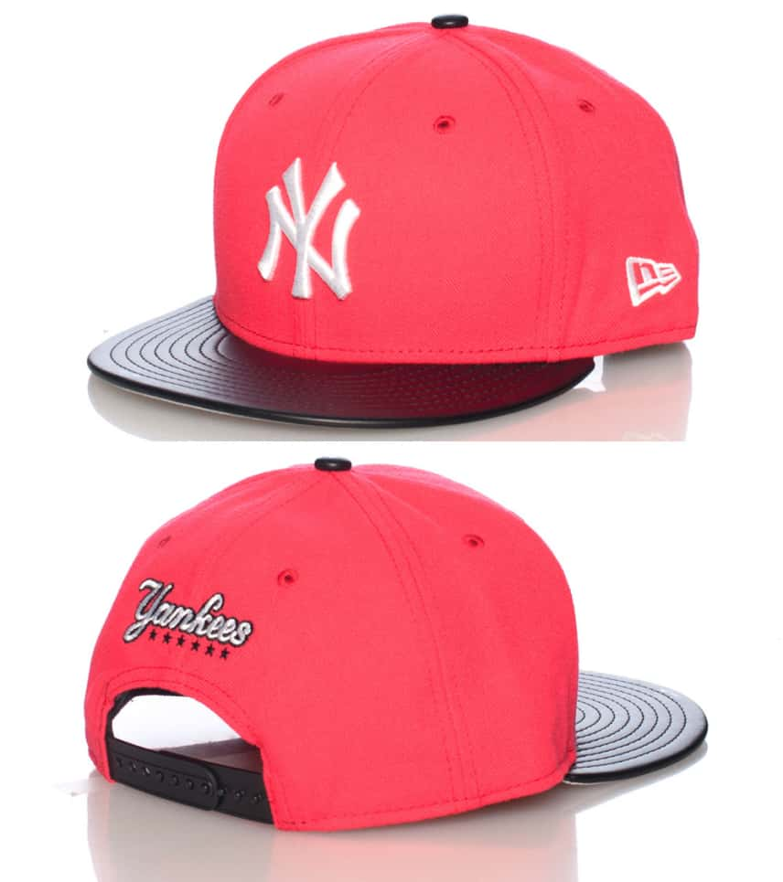 92a54ad4a1e New Era New York Yankees Mlb Snapback Cap (Medium Red) - 70235524 ...