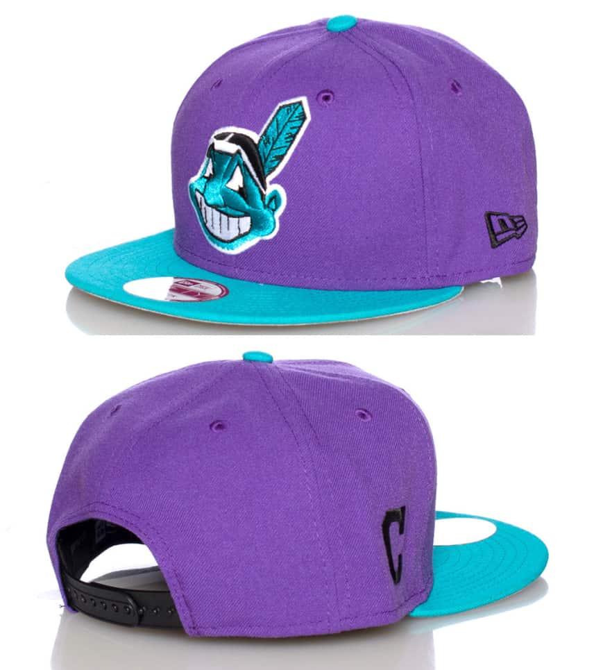 a133b7a39b6 New Era CLEVELAND INDIANS MLB SNAPBACK CAP (Purple) - 70236079 ...