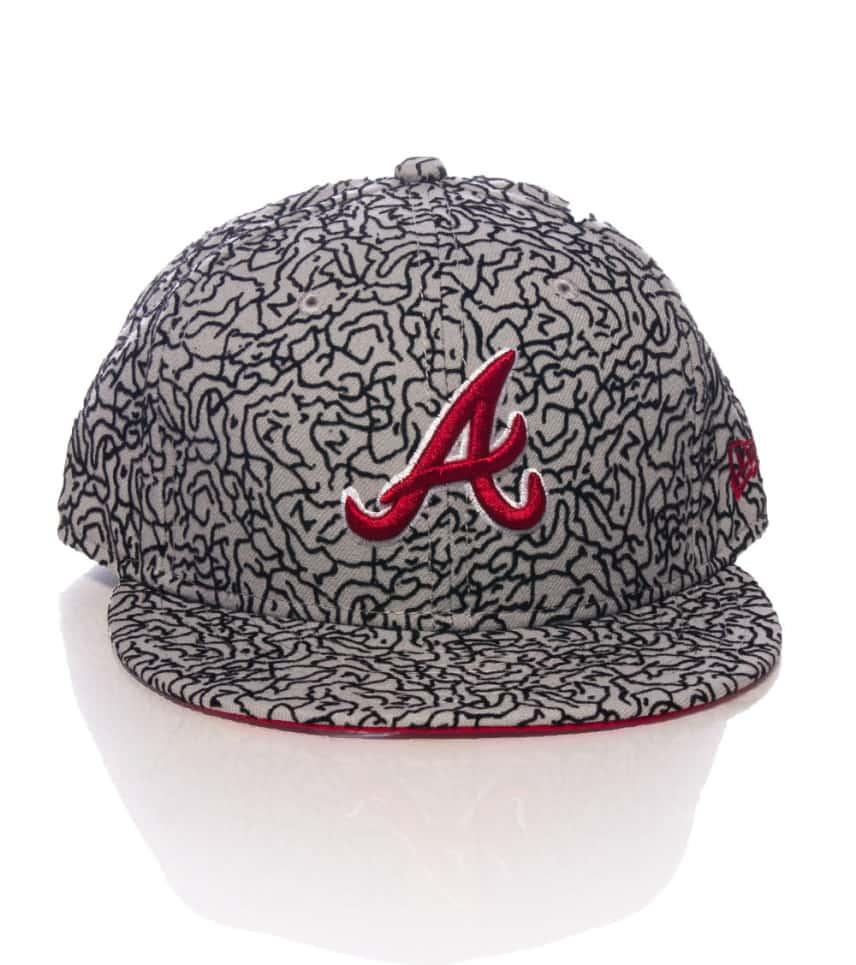 New Era Atlanta Braves Snapback Cap (Grey) - 70236097  49388ea4c74