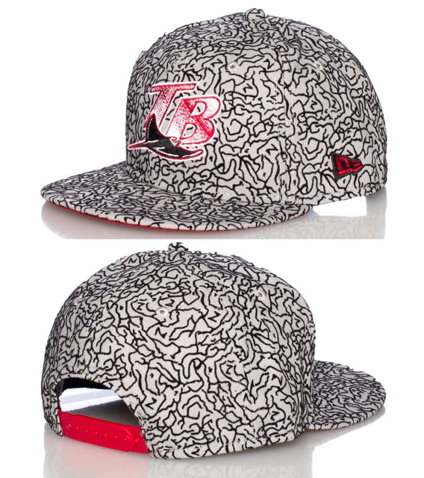 56633bae TAMPA BAY DEVIL RAYS MLB SNAPBACK CAP