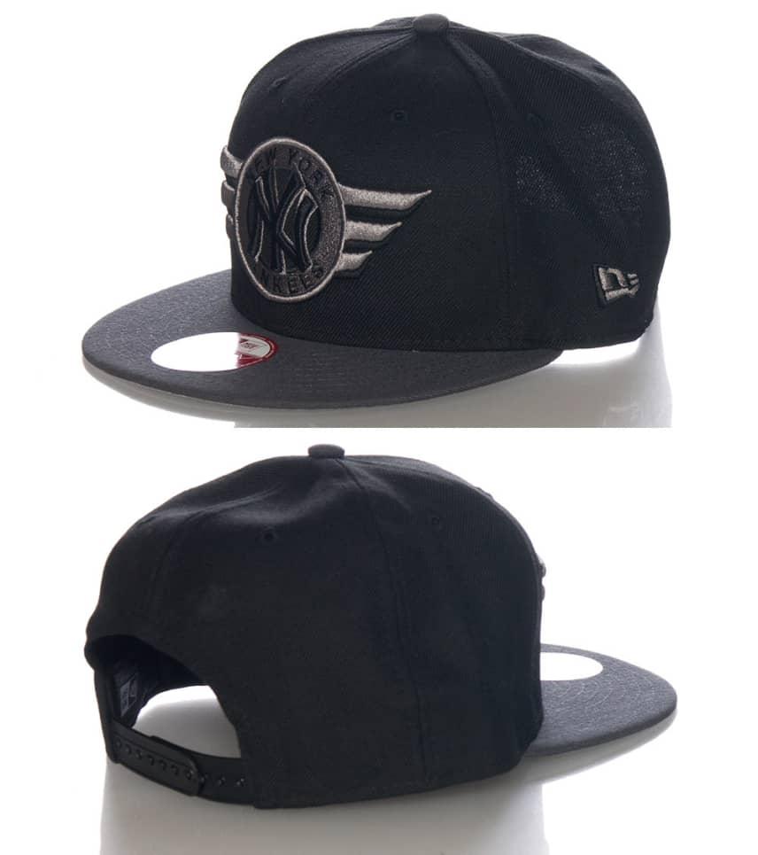New Era New York Yankees Mlb Wings Snapback Cap (Black) - 70255571H ... 24d1a9f6f3f