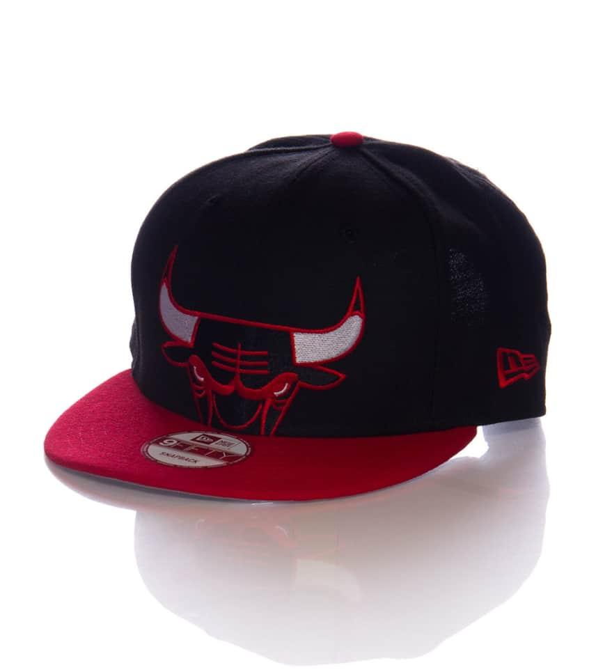 8bb758b33027e New Era 950 CHICAGO BULLS SNAPBACK CAP (Black) - 70265373H