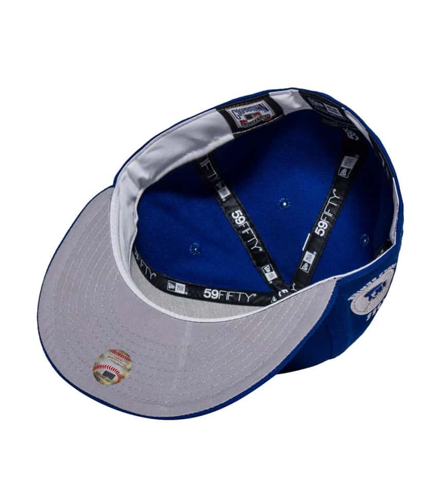 New Era BROOKLYN DODGERS 1955 WORLD SERIES CAP (Royal) - 70286640H ... 993ac1e37be