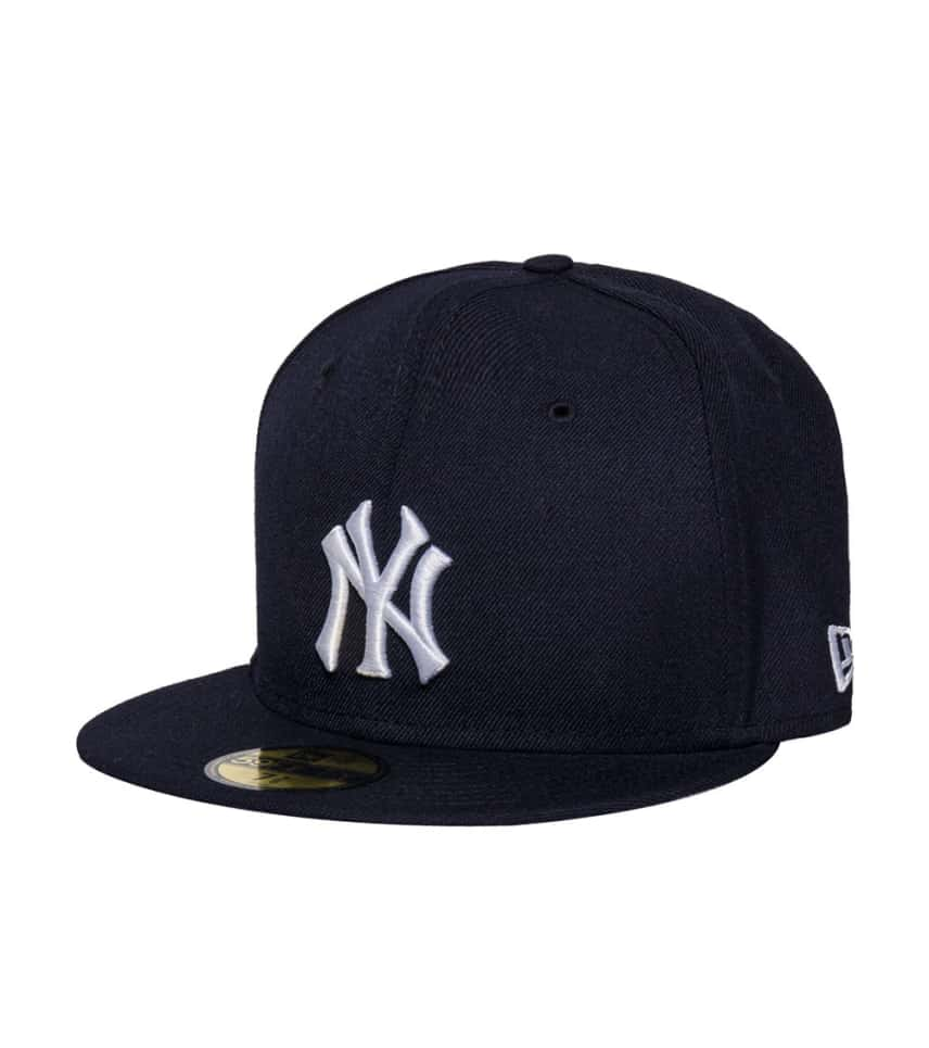 New Era NY Yankees 1955 World Series Fitted Cap (Navy) - 70290195H ... 0f85523a5b5