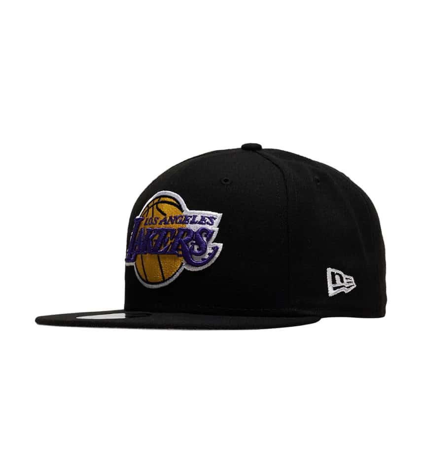 456a6a0d90 New Era LA LAkers Snapback Hat (Black) - 70353240