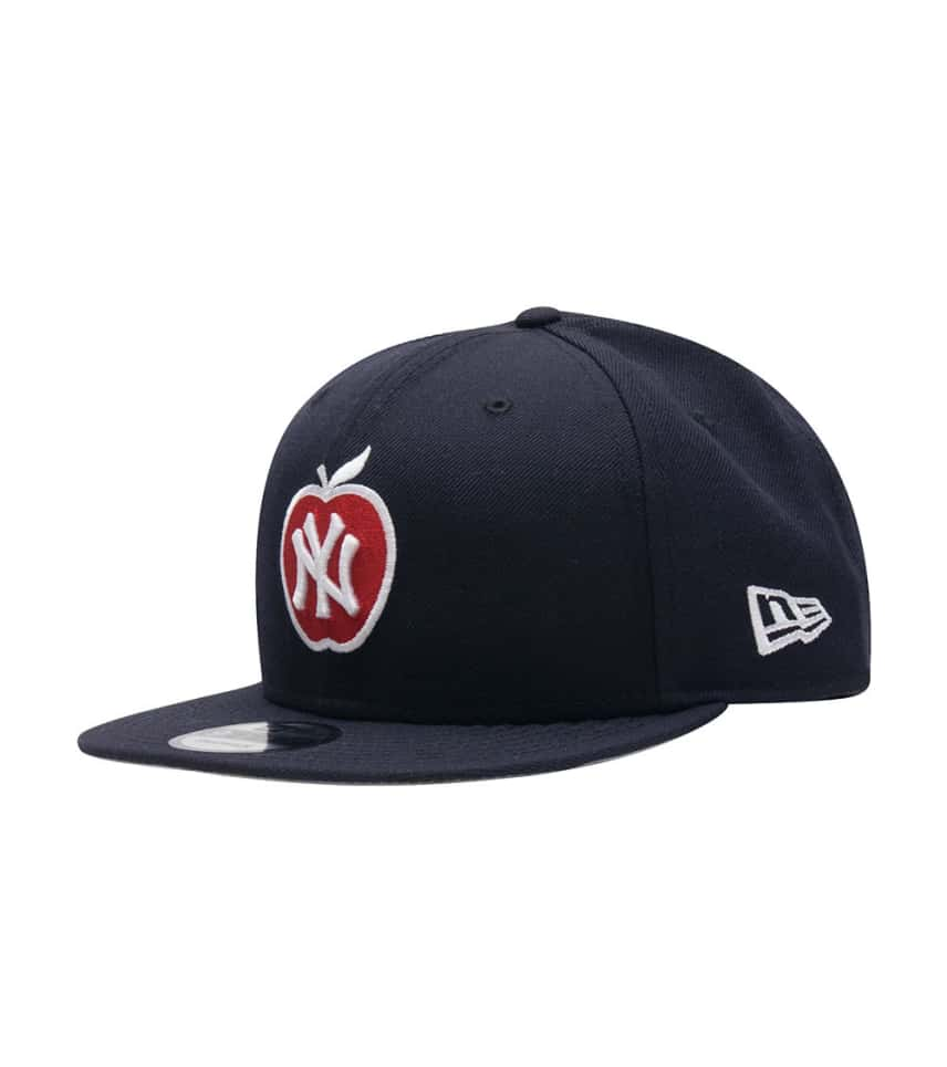 688327e1c6 New Era NY Yankees Apple Snapback Hat (Navy) - 70383805