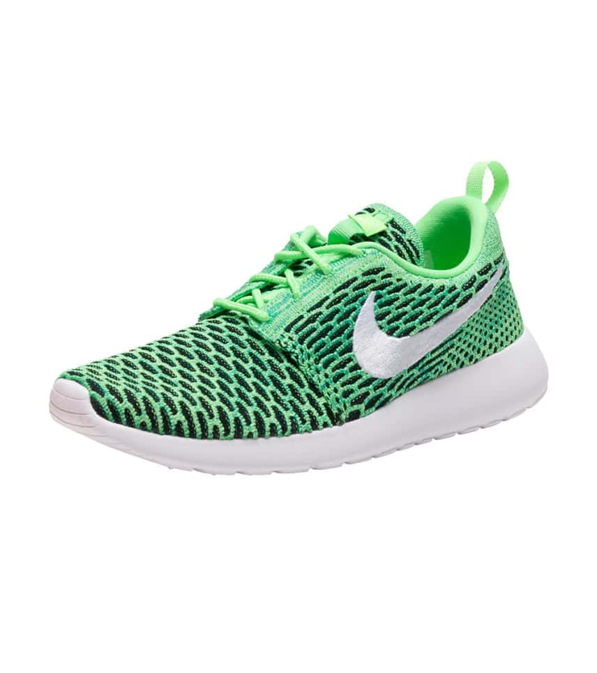 best website c664e 896ea NIKE SPORTSWEAR ROSHE ONE FLYKNIT SNEAKER (Green) - 704927-305 ...