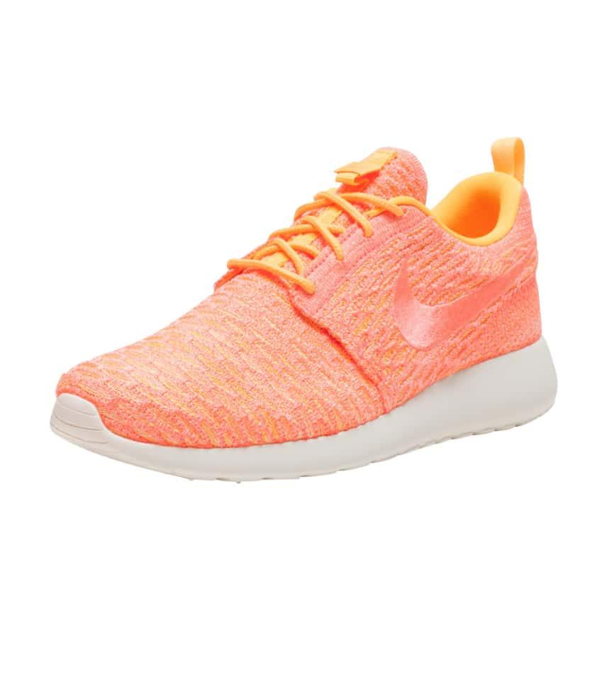 0ad714872322 Nike ROSHE ONE FLYKNIT (Orange) - 704927-802