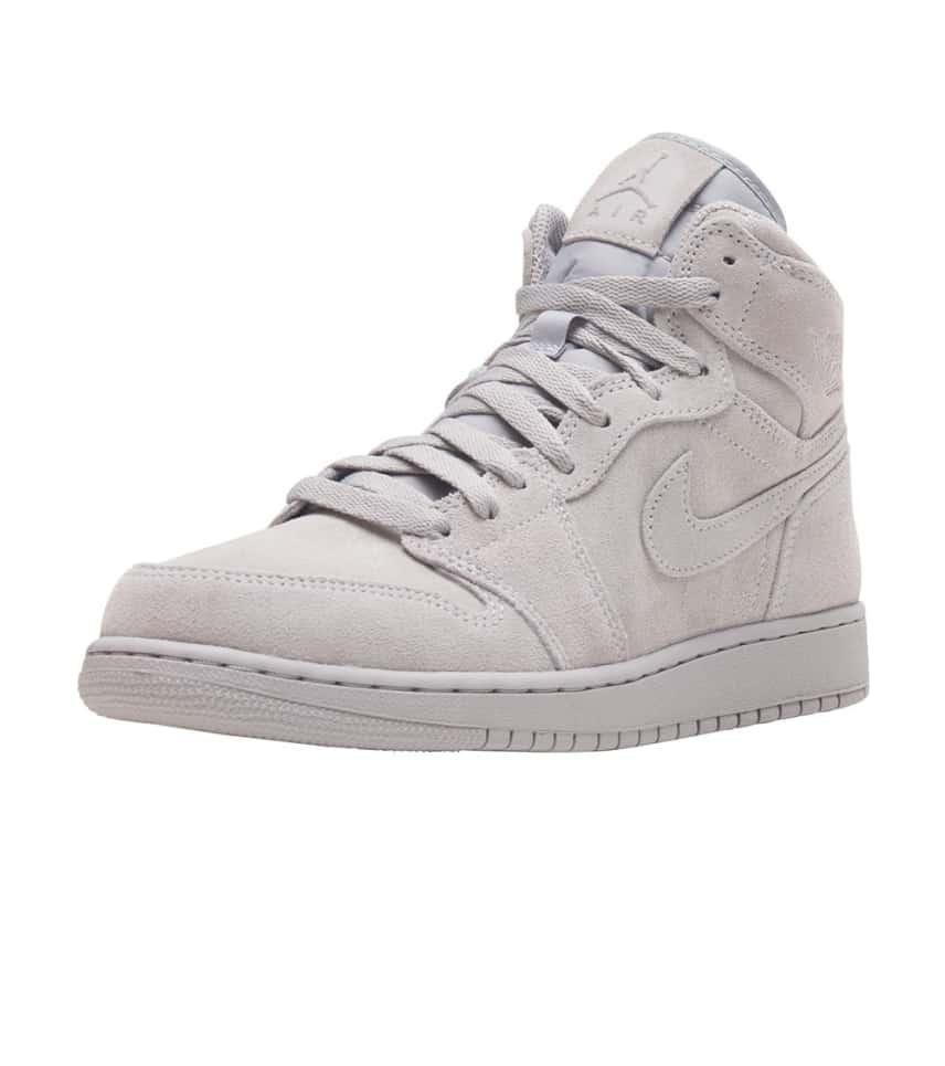 Jordan Retro 1 High Sneaker (Grey) - 705300-031  cc13c290b5ba