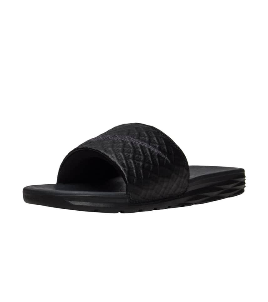f93d97b72221 Nike Benassi Solar Soft Slide 2 (Black) - 705474-091