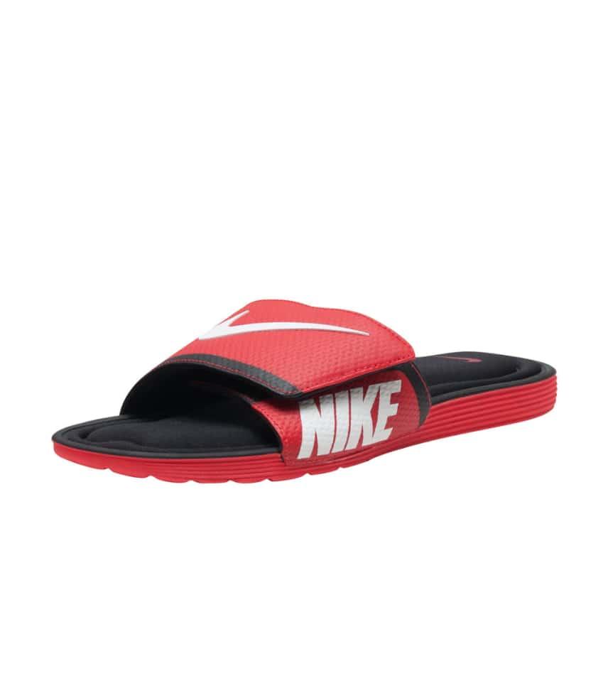 c50bc193c5376d Nike SOLARSOFT COMFORT SLIDE (Red) - 705513-610
