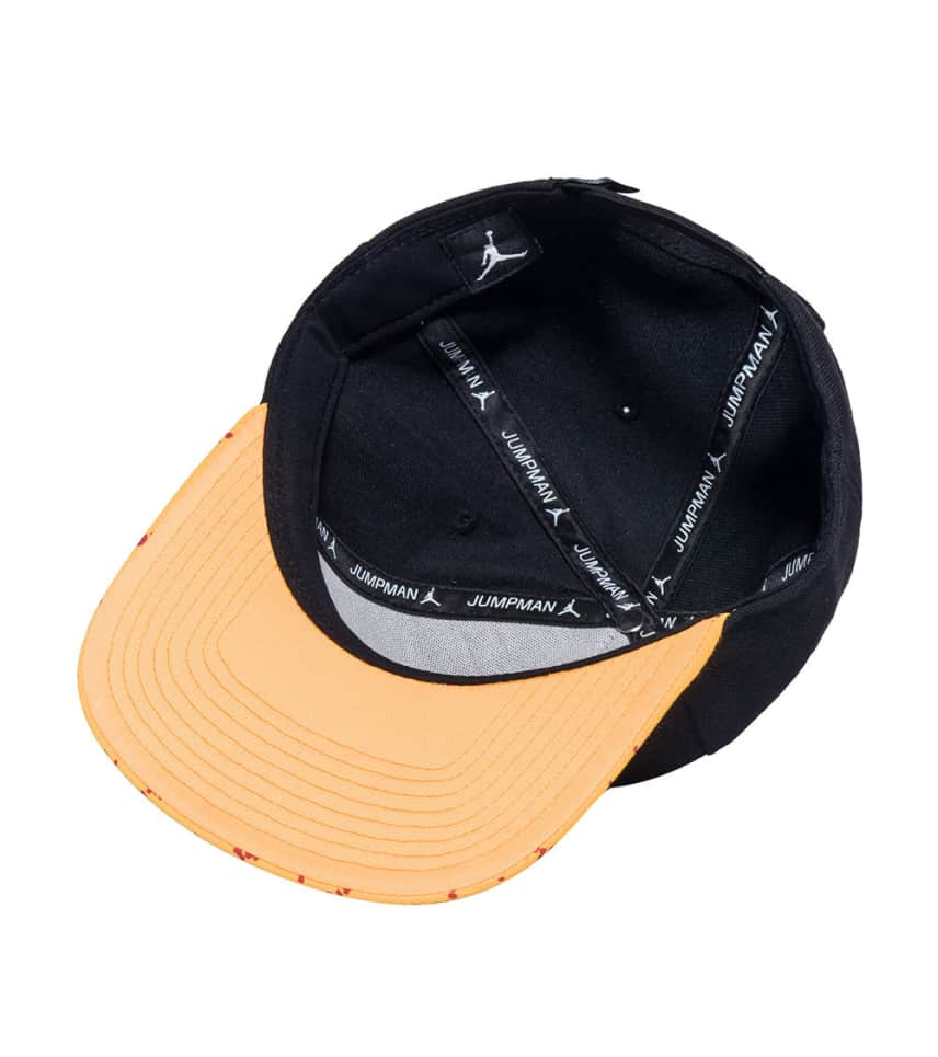 2acbcc09048 Jordan AIR JORDAN STENCIL SNAPBACK CAP (Black) - 707249-011