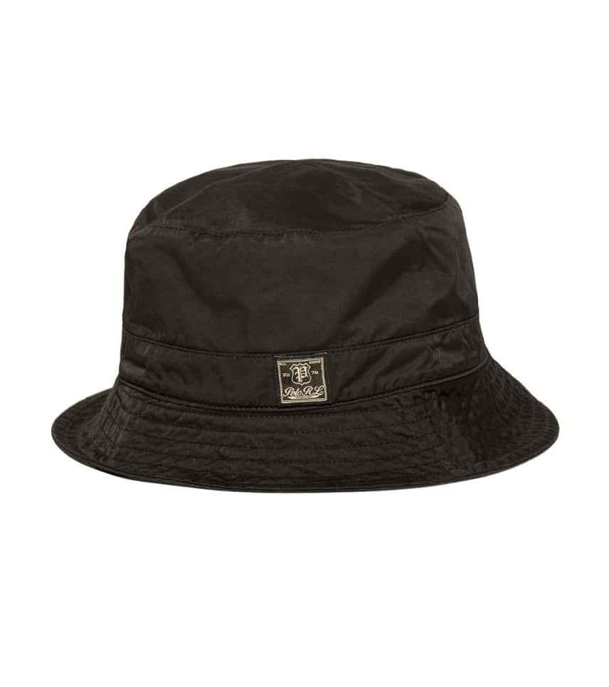 Polo Bucket Hat (Black) - 710562800001  505f31a54ff