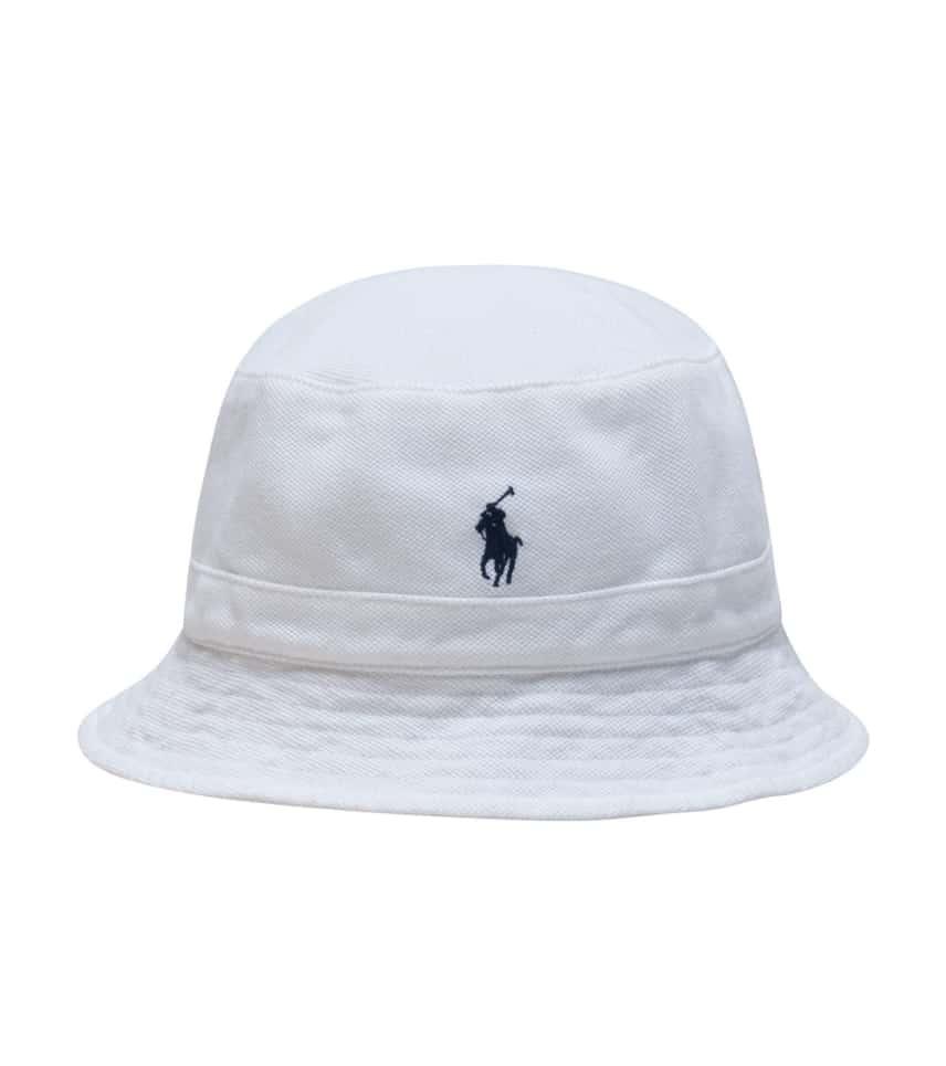 Polo LOFT BUCKET HAT (White) - 710594366001  d596cef3543