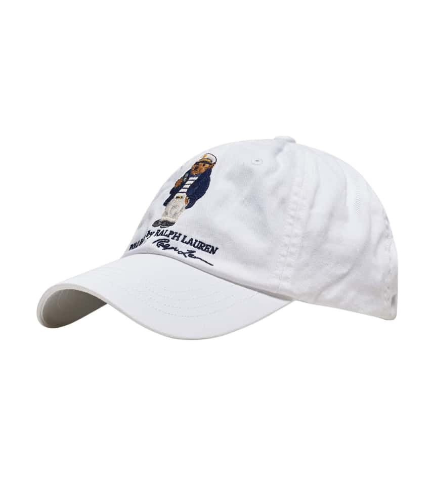b4b671816358b6 Polo Classic Sports Bear Cap (White) - 710706538002