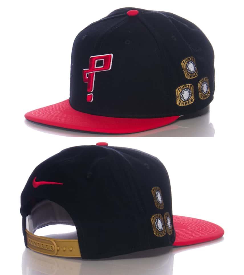 NIKE SPORTSWEAR Qt Pippen 6 Pro Snapback Cap (Black) - 716345010H ... 9ecf751d189
