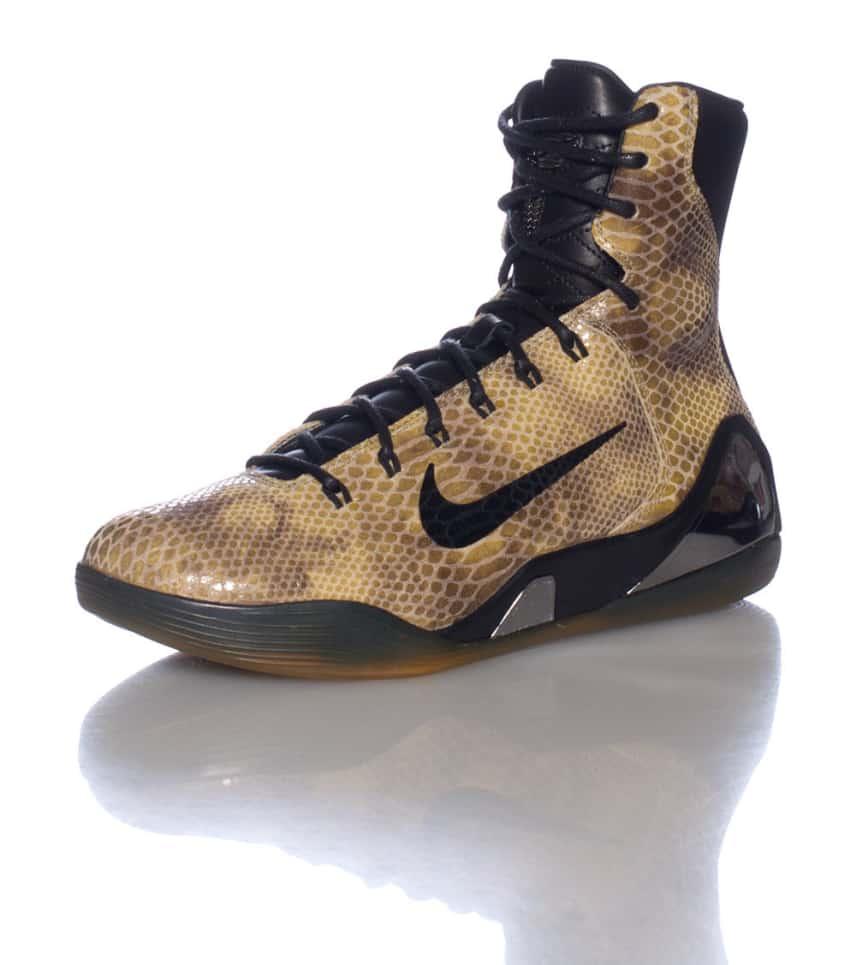 Nike Kobe Ix High Ext QS Sneaker (Brown) - 716616001  29d10f8da2af