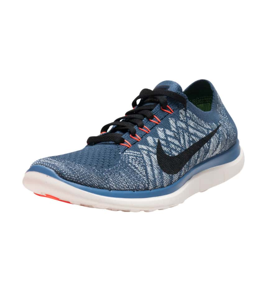 b4519b919b67 Nike FREE 4.0 FLYKNIT SNEAKER (Blue) - 717075-403
