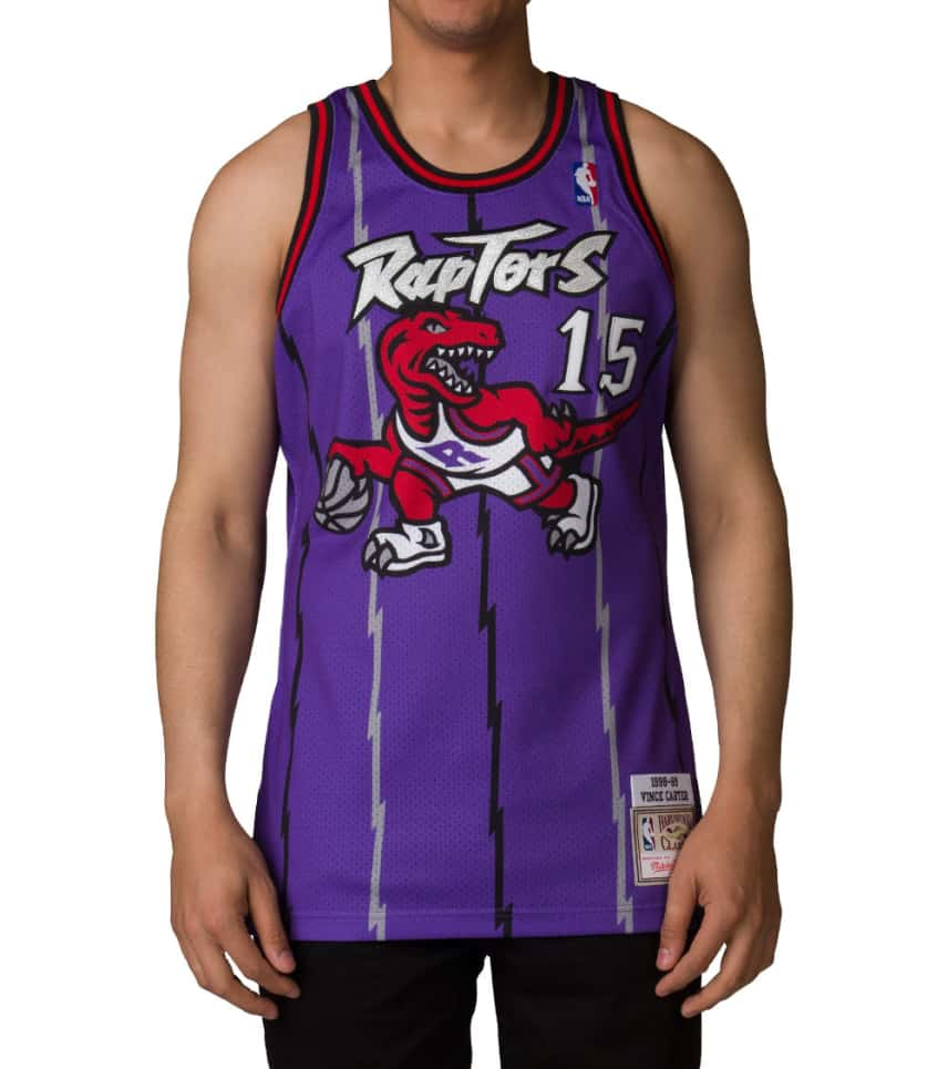 0f7dc843d9e Mitchell and Ness Toronto Raptors Vince Carter Jersey (Purple ...