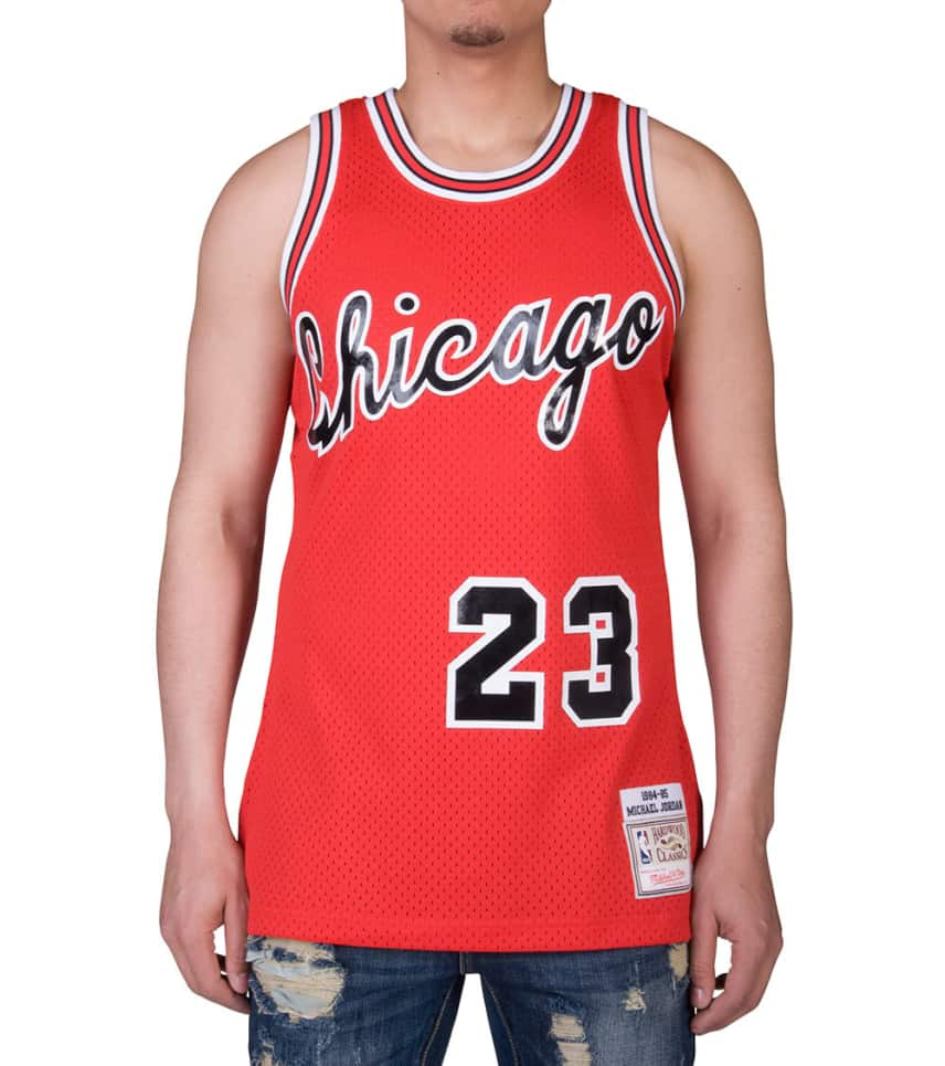 c9a420267cb9 Mitchell and Ness Chicago Bulls 1984-85 MJ Jersey (Red ...