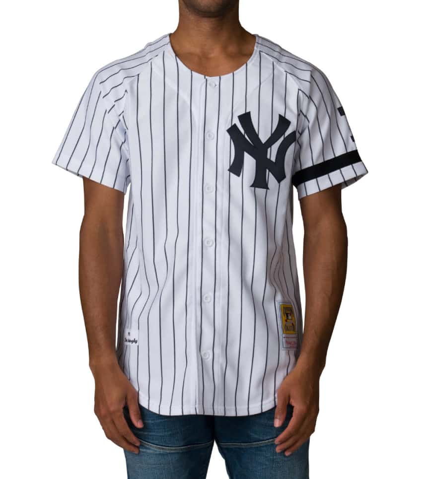 2b052271 Mitchell and Ness New York Yankees Don Mattingly Jersey (White ...