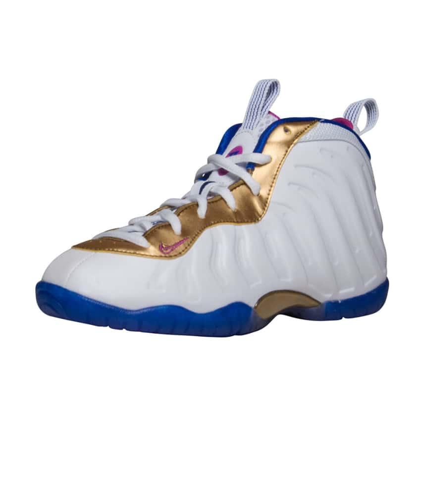 5e5be8bd1c274 Nike Little Posite One Sneaker (White) - 723946-103
